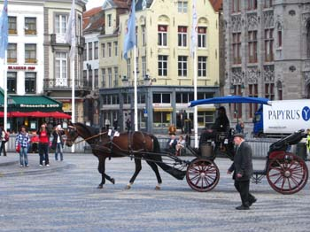 Horse Cart rides in Bruge